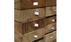 Pine Sleepers 200mm x 75mm